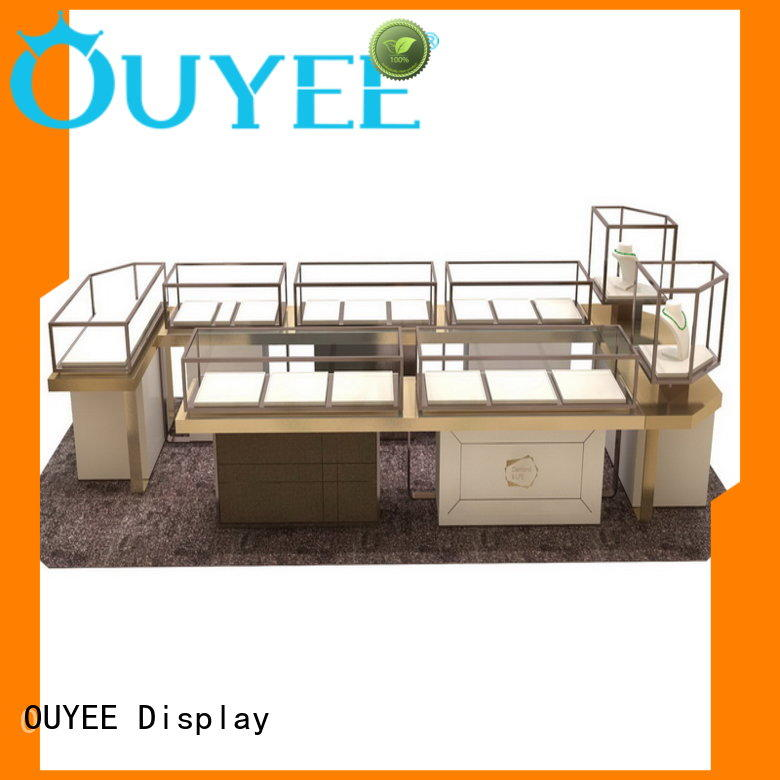 commercial wall watch display case low-cost for store OUYEE