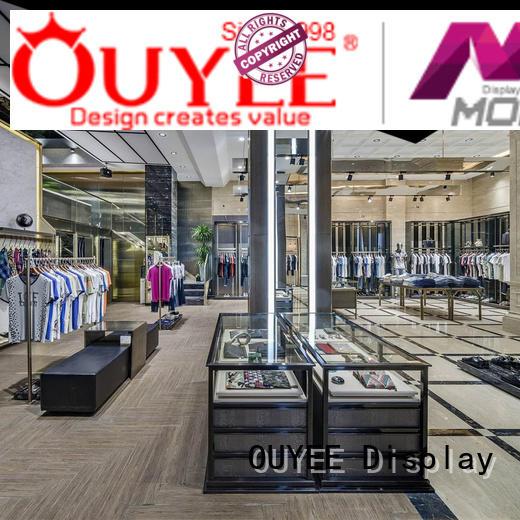 cloth underwear shop garment clothing shelves OUYEE
