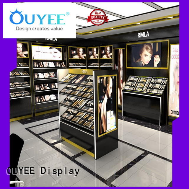 makeup makeup retail display furnitures design OUYEE Brand