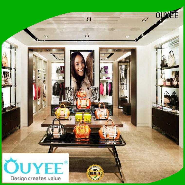OUYEE funky purse display ideas at discount for chain shop