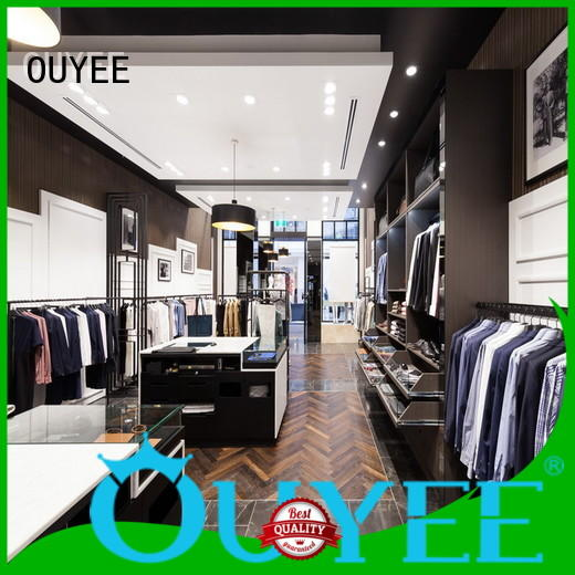 OUYEE high quality tailoring shop interior design universal for decoration