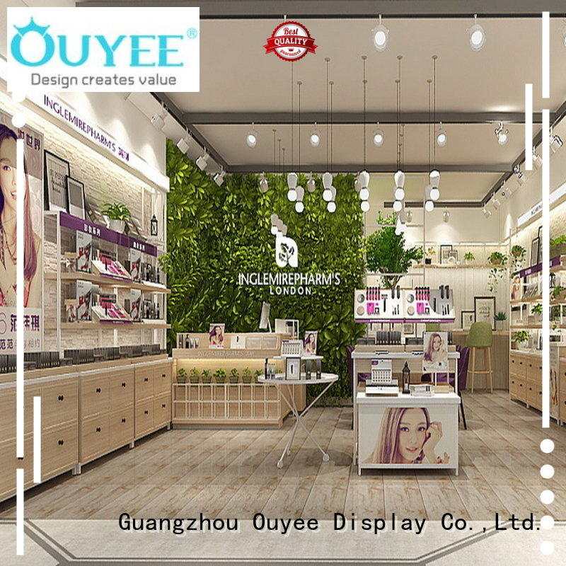 low cost display cosmetic high-end for decoration