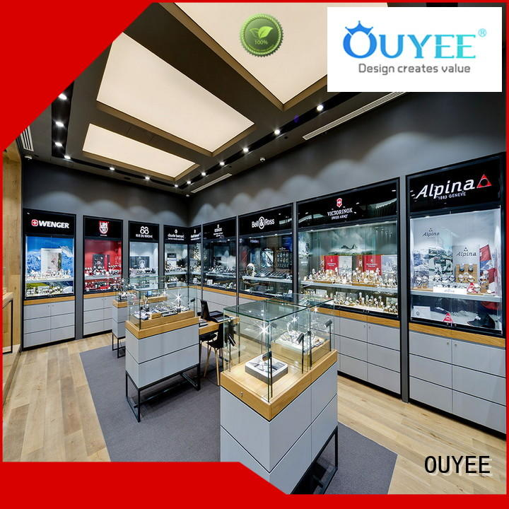 OUYEE custom jewelry display cards for sale for shop