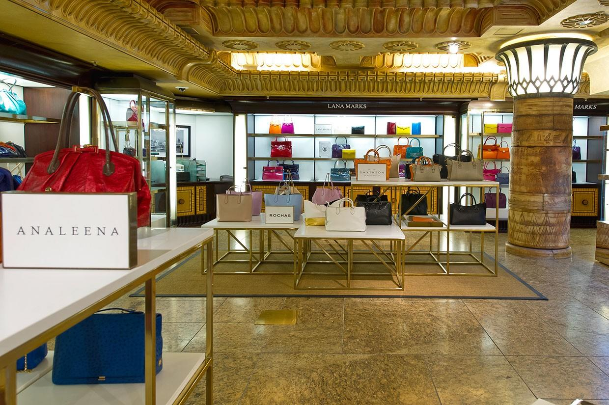 OUYEE chic shoe shop interior design eye-catching for business-3