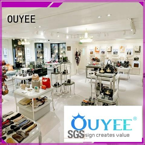 wallet display stand high-end for chain shop OUYEE
