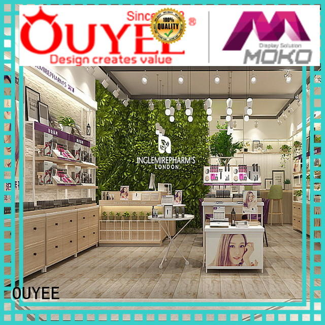 makeup decoration stand beauty cosmetic shop OUYEE