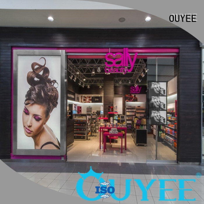 makeup makeup retail display racks OUYEE company