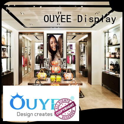Boutique Clothes and Shop Bag Display Stand OY-SSD009
