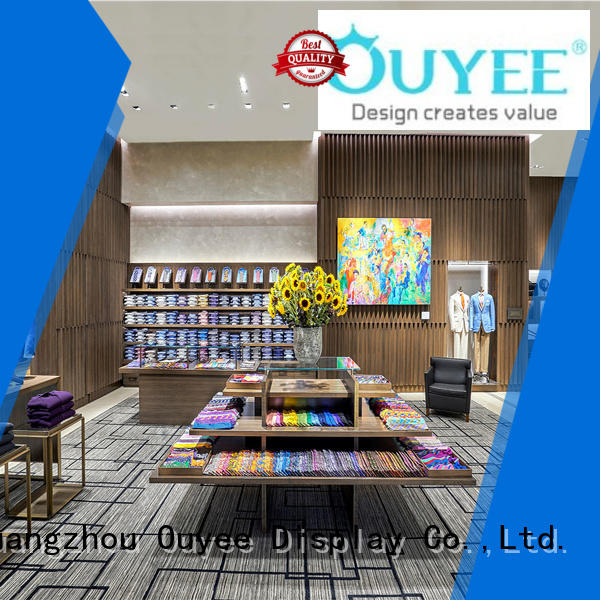 OUYEE high quality gold garment rack universal for wholesale