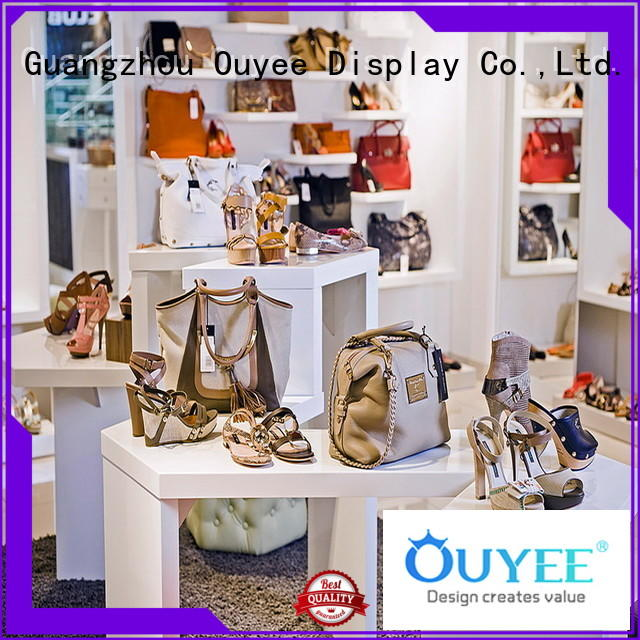 shoe and boot rack high-quality for chain shop OUYEE