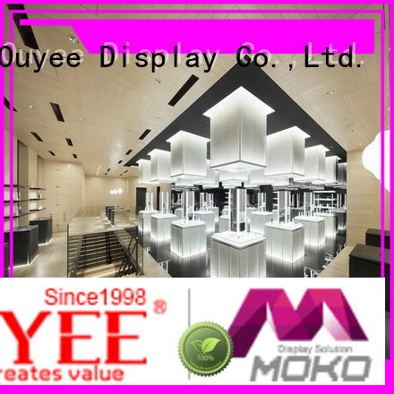 OUYEE universal cosmetic display stand at discount for decoration
