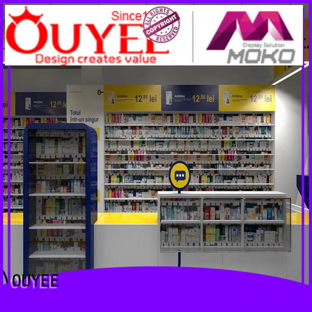 on-sale medical store furniture free delivery for store OUYEE