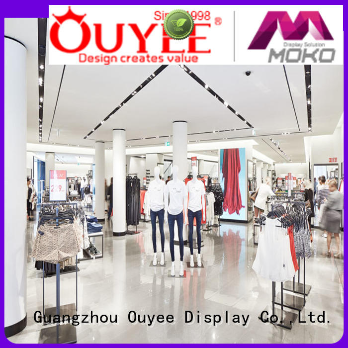 free delivery clothing store design high-end universal for garment display