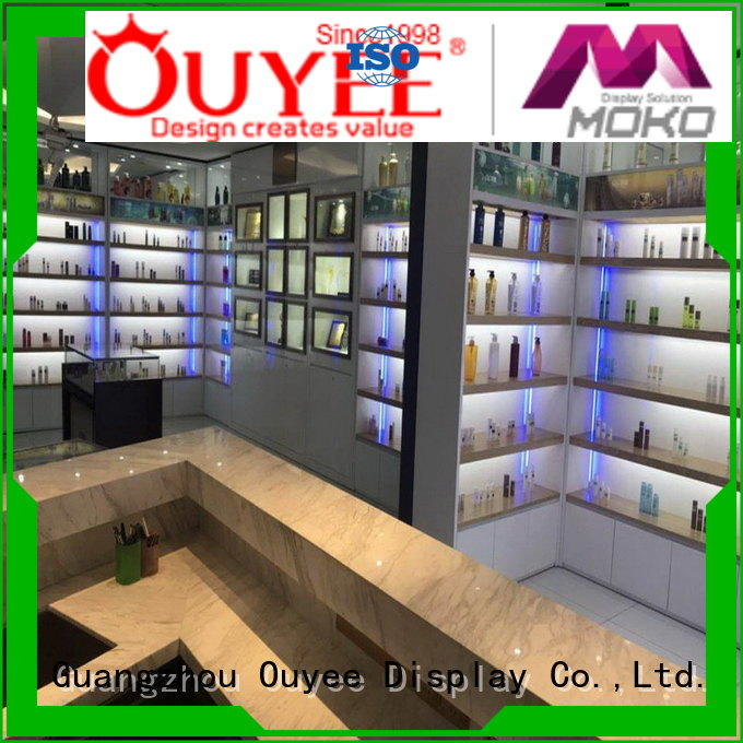OUYEE Brand shopping mall perfume rack stand