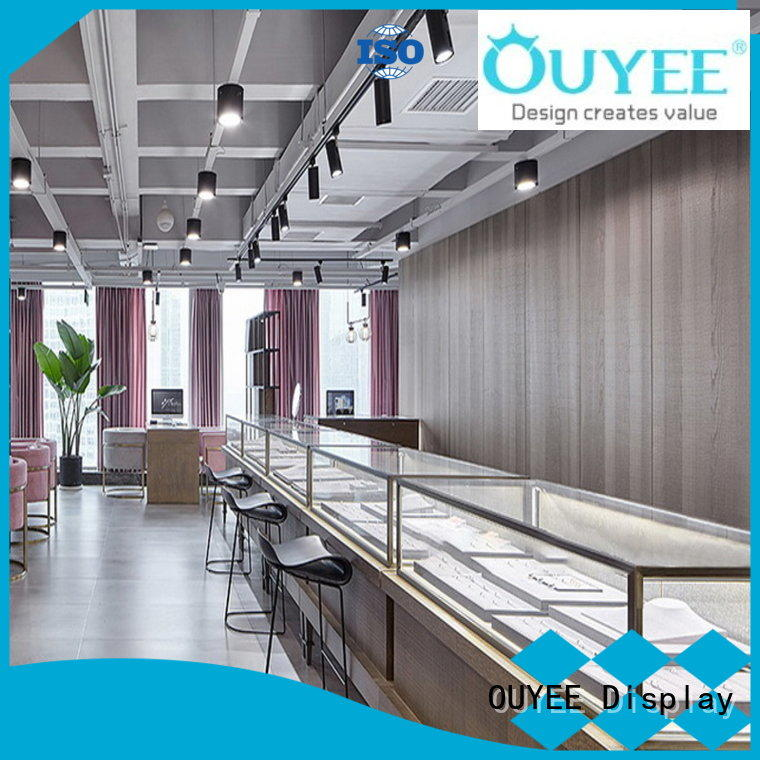 OUYEE high quality shop display OEM for store