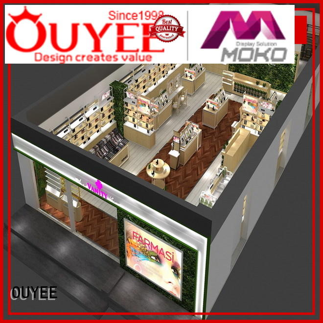 Custom furniture cosmetic shop kiosk OUYEE