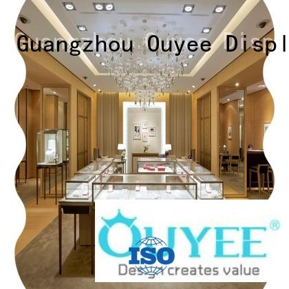 OUYEE custom jewellery counter display low-cost for shop
