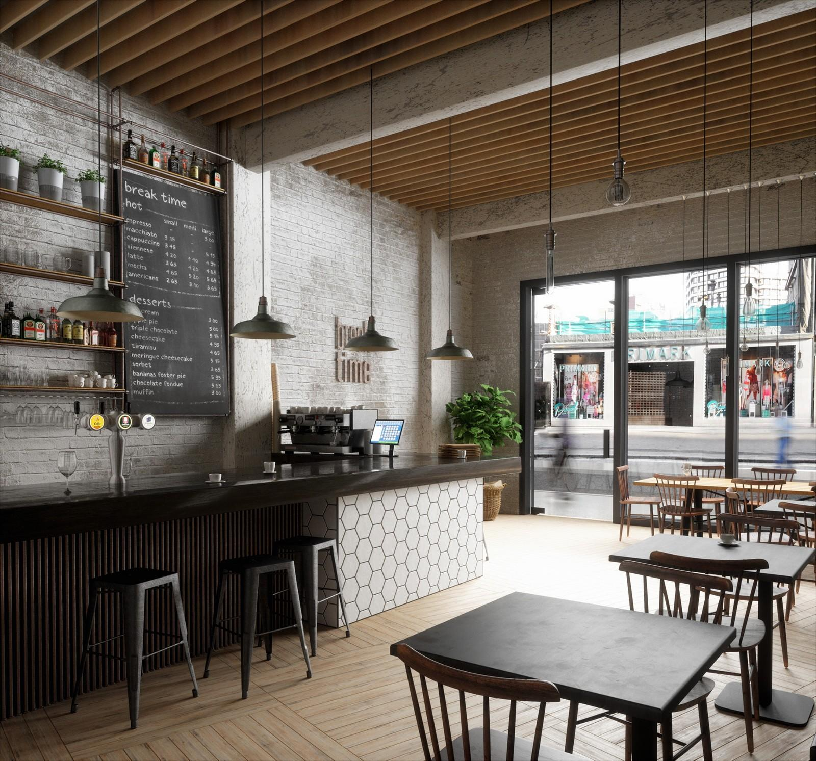 OUYEE best design coffee shop design ideas bulk production for club-2