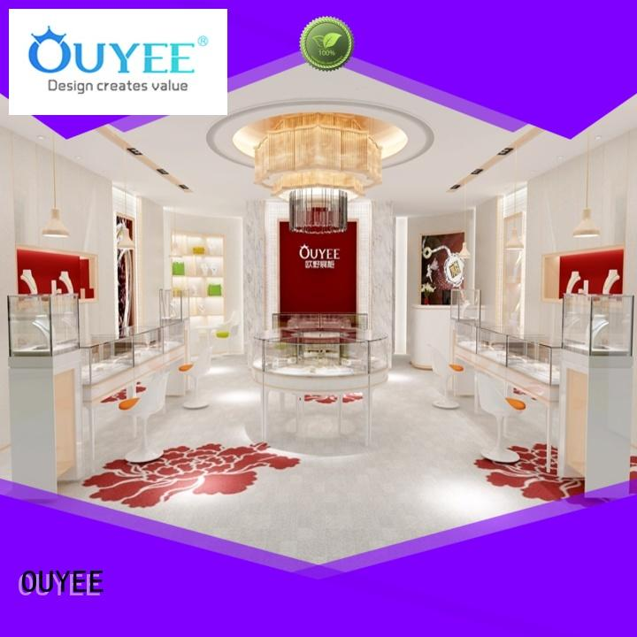 OUYEE chic style commercial jewelry display latest for shop