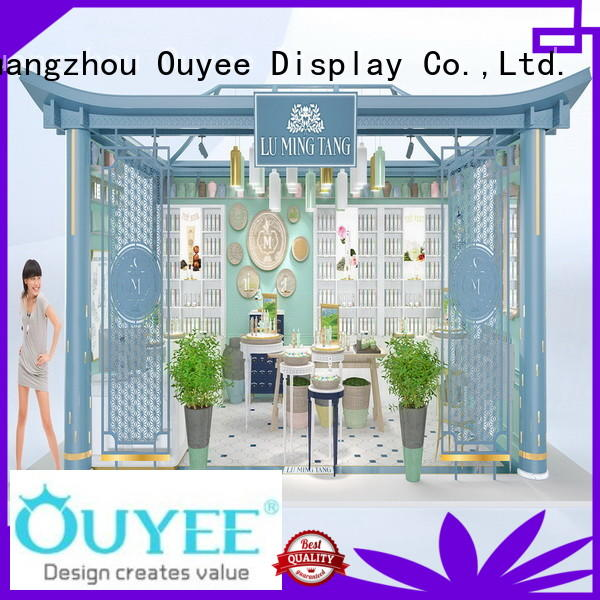 OUYEE low cost wall mounted display cabinet at discount for wholesale