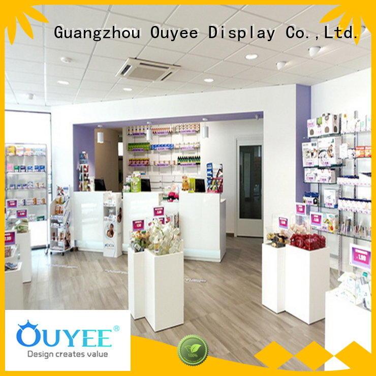 OUYEE Brand interior pharmacy retail pharmacy counter