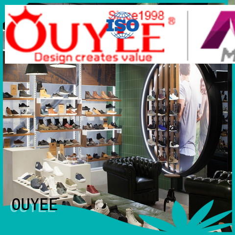 OUYEE high-quality handbag holder stand commercial for chain shop