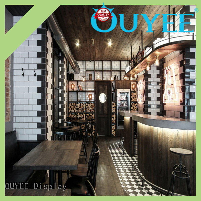 OUYEE custom modern cafe design bulk production for bar