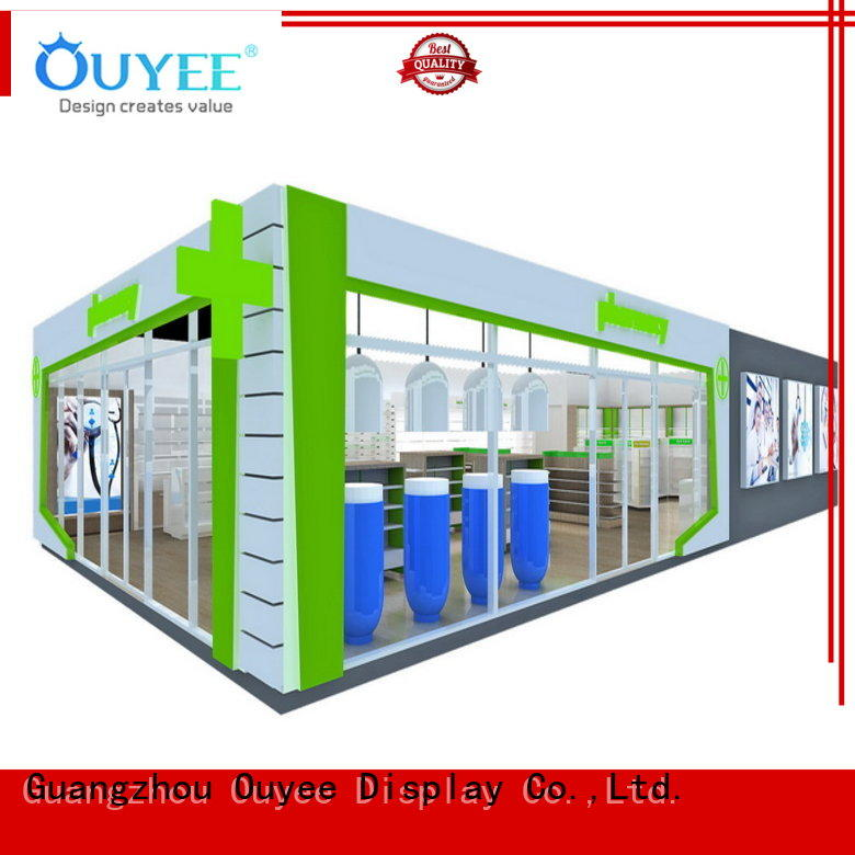 OUYEE commercial pharmacy design layout fast installation for hospital