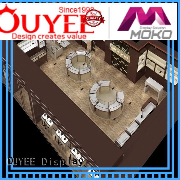 OUYEE funky jewellery display cabinets commercial for store