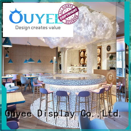 stand furniture shop kiosk coffee shop OUYEE manufacture
