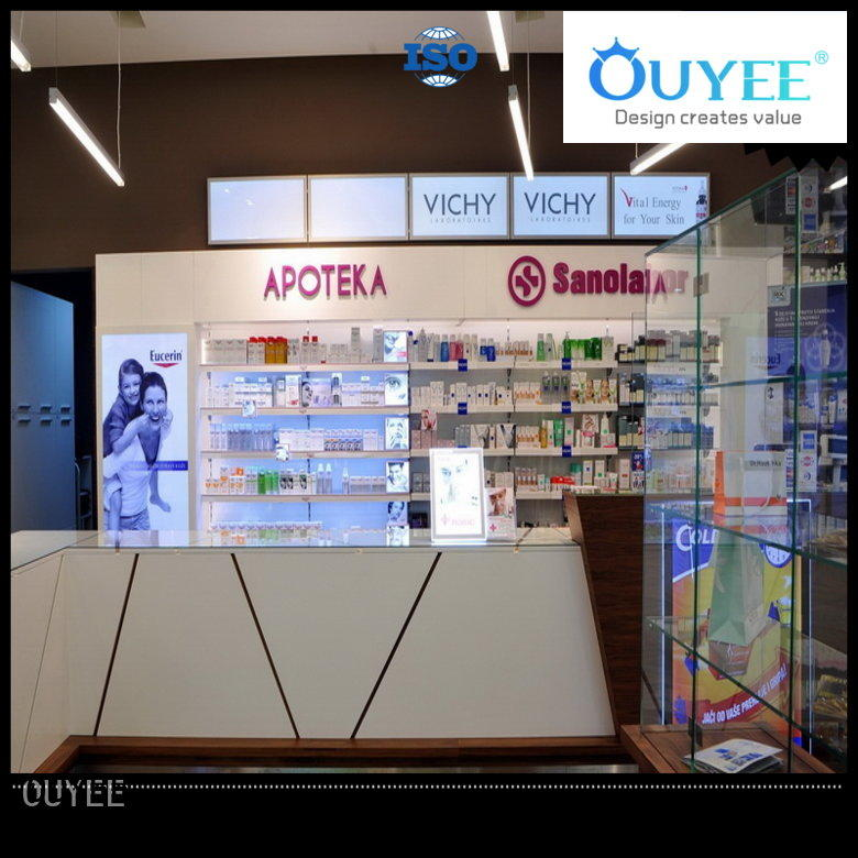OUYEE at discount counter design for medical shop bulk production for shop