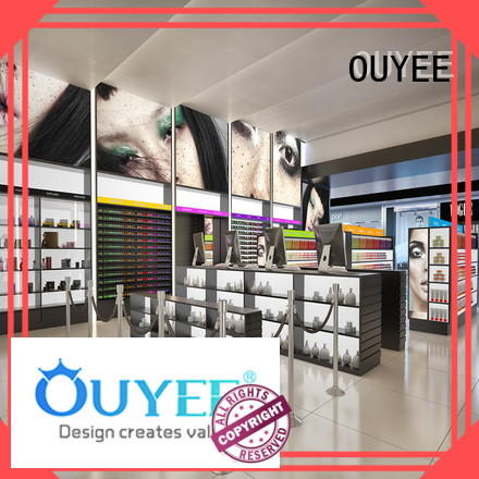 OUYEE low cost make up display high-end for wholesale