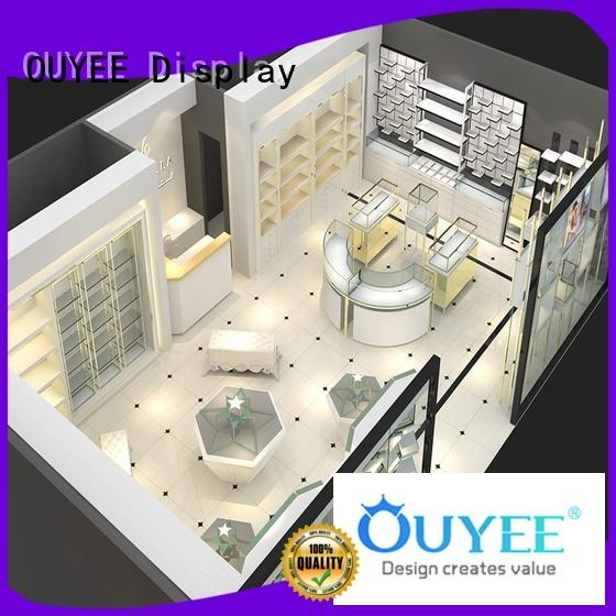 large jewelry display case commercial for wholesale OUYEE