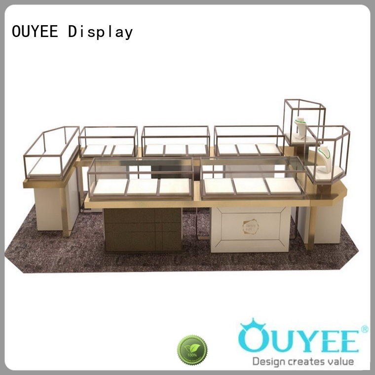 retail jewellery display cabinets commercial for store OUYEE