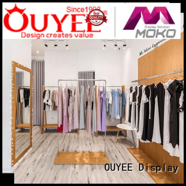 OUYEE high quality shop interior design for clothes at discount for decoration