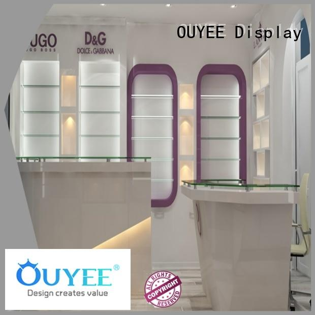 OUYEE hot-sale perfume display tray by bulk for supermarket
