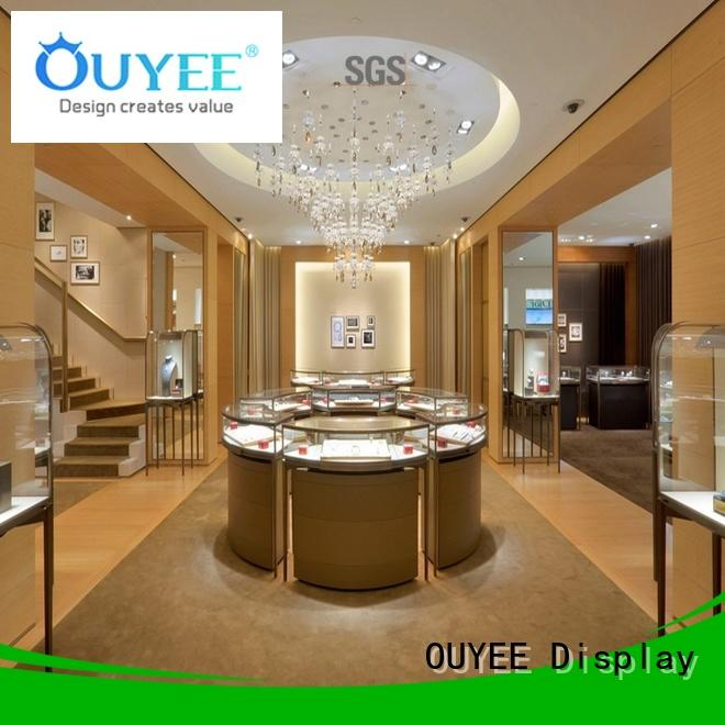Wholesale design jewellery shop showcase design OUYEE Brand