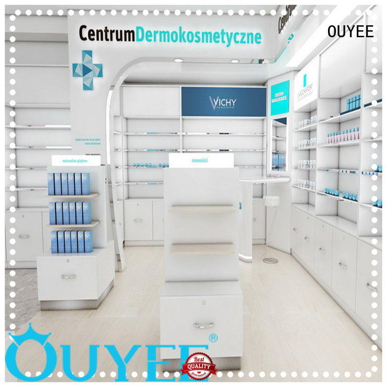OUYEE commercial medication shelf fast delivery for shop