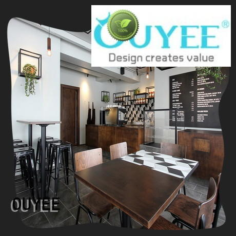 OUYEE chic coffee cafe interior design modern for club