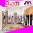 menswear boutique clothing display racks name OUYEE company