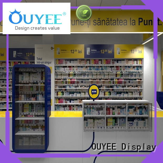 OUYEE top brand medical store furniture fast installation for display