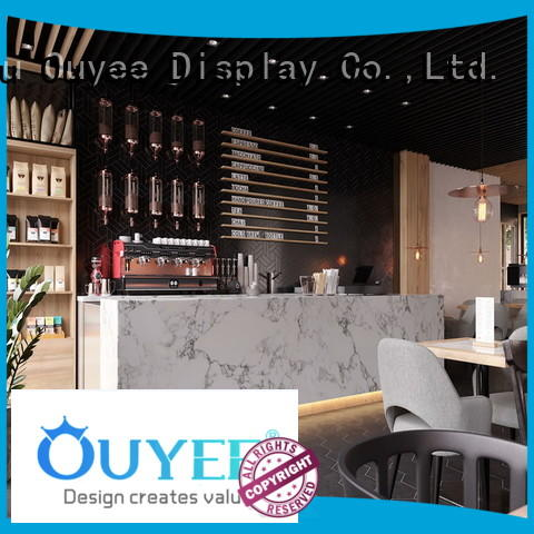 furniture interior commercial OUYEE Brand coffee shop design supplier