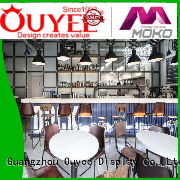 OUYEE eye-catching small cafe design bulk production for restaurant