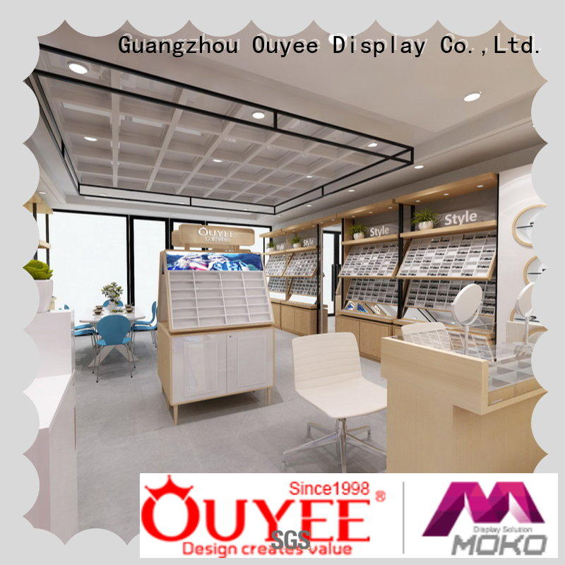 high quality glass showcase for wholesale for supplier