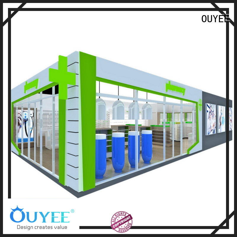OUYEE quality display shelves factory for medicine
