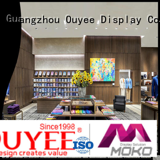 OUYEE high-end cloth counter design universal for ladies clothing