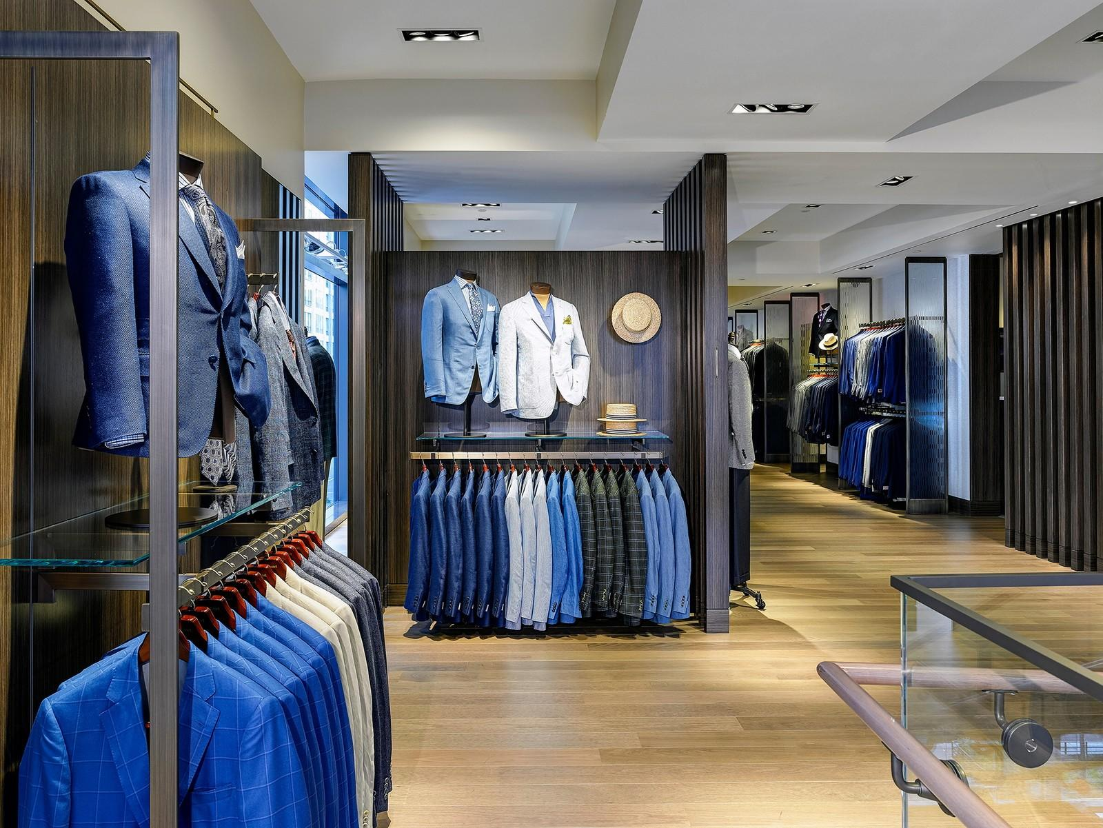 OUYEE high-end garment shop interior design ideas at discount for decoration-3