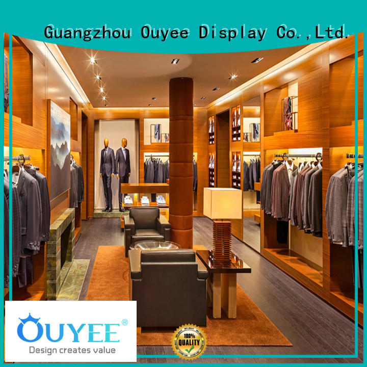 rack boutique clothing display racks commercial fixtures OUYEE Brand