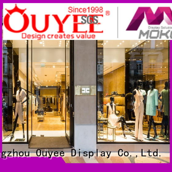 Wholesale interior boutique clothing display racks OUYEE Brand