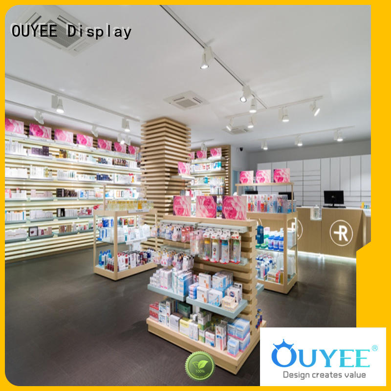 medicine interior pharmacy counter small OUYEE Brand